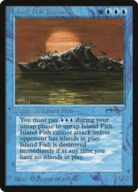 Island Fish Jasconius, Magic: The Gathering, Arabian Nights