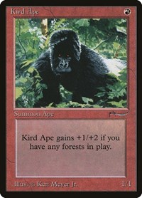 Kird Ape, Magic: The Gathering, Arabian Nights