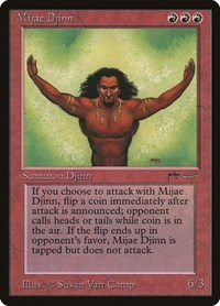 Mijae Djinn, Magic: The Gathering, Arabian Nights