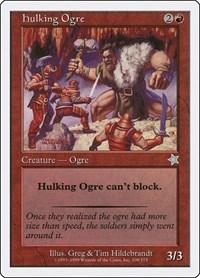 Hulking Ogre, Magic: The Gathering, Starter 1999
