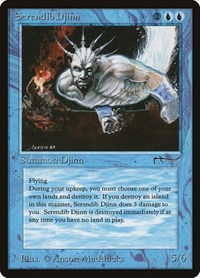 Serendib Djinn, Magic: The Gathering, Arabian Nights