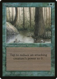 Singing Tree, Magic: The Gathering, Arabian Nights