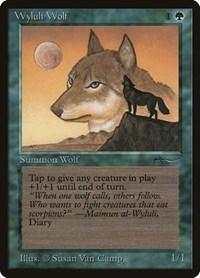 Wyluli Wolf, Magic: The Gathering, Arabian Nights