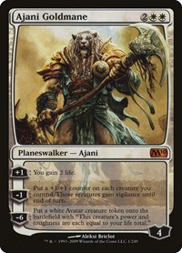 Ajani Goldmane, Magic: The Gathering, Magic 2010 (M10)