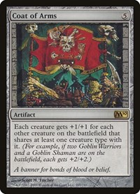 Coat of Arms, Magic: The Gathering, Magic 2010 (M10)