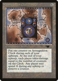 Armageddon Clock, Magic: The Gathering, Antiquities