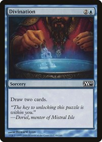 Divination, Magic: The Gathering, Magic 2010 (M10)