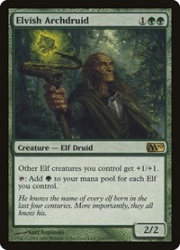 Elvish Archdruid, Magic: The Gathering, Magic 2010 (M10)