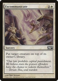 Excommunicate, Magic: The Gathering, Magic 2010 (M10)