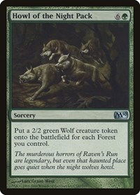 Howl of the Night Pack, Magic: The Gathering, Magic 2010 (M10)