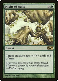 Might of Oaks, Magic: The Gathering, Magic 2010 (M10)