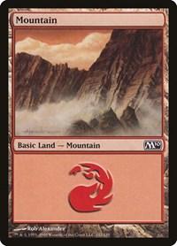 Mountain (242), Magic: The Gathering, Magic 2010 (M10)