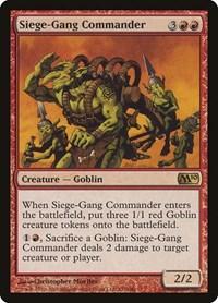 Siege-Gang Commander, Magic: The Gathering, Magic 2010 (M10)