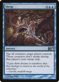 Sleep, Magic: The Gathering, Magic 2010 (M10)