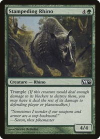 Stampeding Rhino, Magic: The Gathering, Magic 2010 (M10)