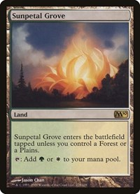Sunpetal Grove, Magic: The Gathering, Magic 2010 (M10)