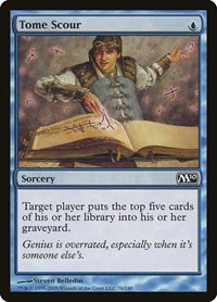 Tome Scour, Magic: The Gathering, Magic 2010 (M10)