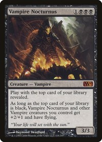 Vampire Nocturnus, Magic: The Gathering, Magic 2010 (M10)
