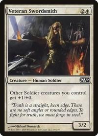 Veteran Swordsmith, Magic: The Gathering, Magic 2010 (M10)