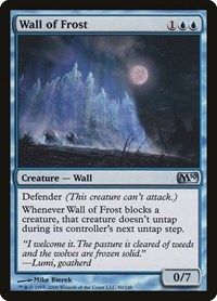 Wall of Frost, Magic: The Gathering, Magic 2010 (M10)