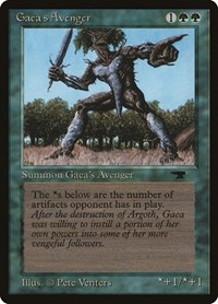 Gaea's Avenger, Magic: The Gathering, Antiquities