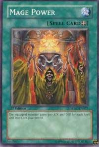 Mage Power, YuGiOh, Structure Deck: Spellcaster's Command
