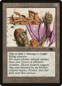 Grapeshot Catapult, Magic: The Gathering, Antiquities
