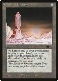 Obelisk of Undoing, Magic: The Gathering, Antiquities