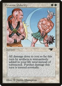 Reverse Polarity, Magic: The Gathering, Antiquities