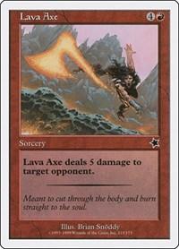 Lava Axe, Magic: The Gathering, Starter 1999