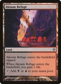 Akoum Refuge, Magic: The Gathering, Zendikar