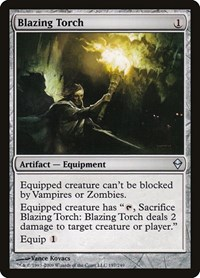 Blazing Torch, Magic: The Gathering, Zendikar