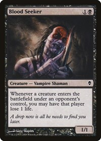 Blood Seeker, Magic: The Gathering, Zendikar