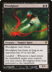 Bloodghast, Magic: The Gathering, Zendikar