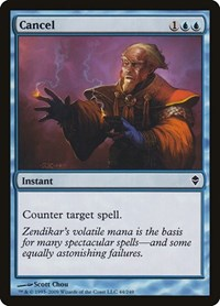 Cancel, Magic: The Gathering, Zendikar