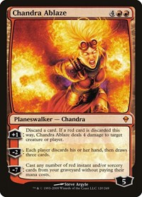 Chandra Ablaze, Magic, Zendikar
