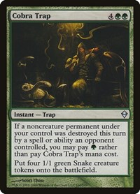 Cobra Trap, Magic: The Gathering, Zendikar