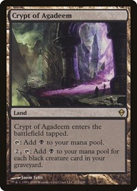 Crypt of Agadeem (Foil)