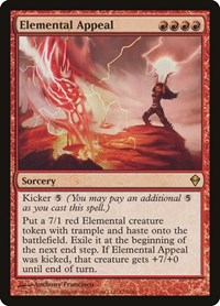 Elemental Appeal, Magic: The Gathering, Zendikar