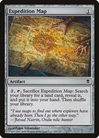 Expedition Map, Magic: The Gathering, Zendikar