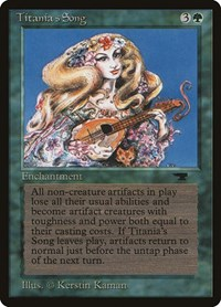 Titania's Song, Magic: The Gathering, Antiquities