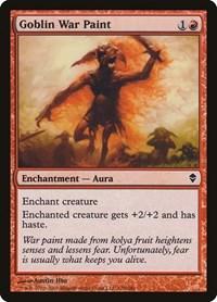 Goblin War Paint, Magic: The Gathering, Zendikar