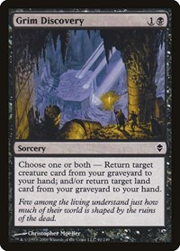 Grim Discovery, Magic: The Gathering, Zendikar