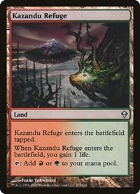 Kazandu Refuge, Magic: The Gathering, Zendikar