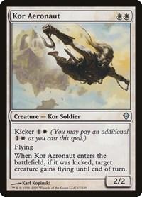 Kor Aeronaut, Magic: The Gathering, Zendikar