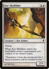 Kor Skyfisher, Magic: The Gathering, Zendikar