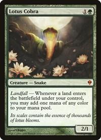 Lotus Cobra, Magic: The Gathering, Zendikar