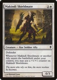 Makindi Shieldmate, Magic, Zendikar