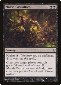 Marsh Casualties, Magic, Zendikar