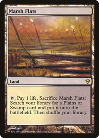 Marsh Flats, Magic, Zendikar